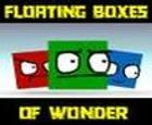 Cajas flotantes de maravilla