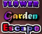 Jardín de flores de escape