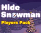 Ocultar el paquete de jugadores de muñeco de nieve