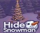 Ocultar muñeco de nieve
