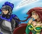 Caballero y bruja