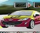 Peugeot rcz coche para colorear