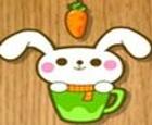 Conejo come zanahoria