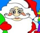 Juego de Santa Claus para colorear