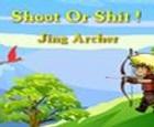 Disparar o cagar - Tiro con arco TAOFEWA Chibi