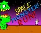 Space Monster! ¡Correr!