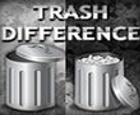 Diferencia de basura