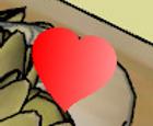 Búsqueda de corazones de San Valentín