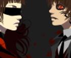 Vampire Couple Halloween Dress Up Game
