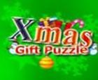 Rompecabezas de regalo de navidad