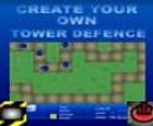 Crea tu propia torre de defensa.