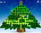 Ilumina el rompecabezas del árbol de navidad