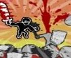 La sombra bestial. Ninjas contra Bárbaros