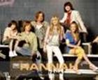 Puzzle de Hannah Montana y sus amigos.