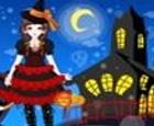Belleza y glamour en un magnífico Halloween