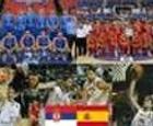 Serbia vs España. Mundial baloncesto 2010