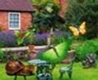 Objetos ocultos en el jardin