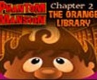 La mansión Embrujada. Capítulo 2, La biblioteca naranja.