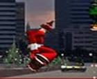Papa Noel en monopatín