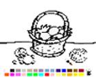 Juego de Colorear huevos de Pascua