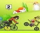 Demonios de la velocidad, carreras de BMX