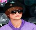 Maquillar a Justin Bieber