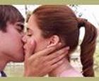 Beso Violetta y Leon