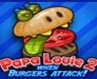 papa louie burger attack