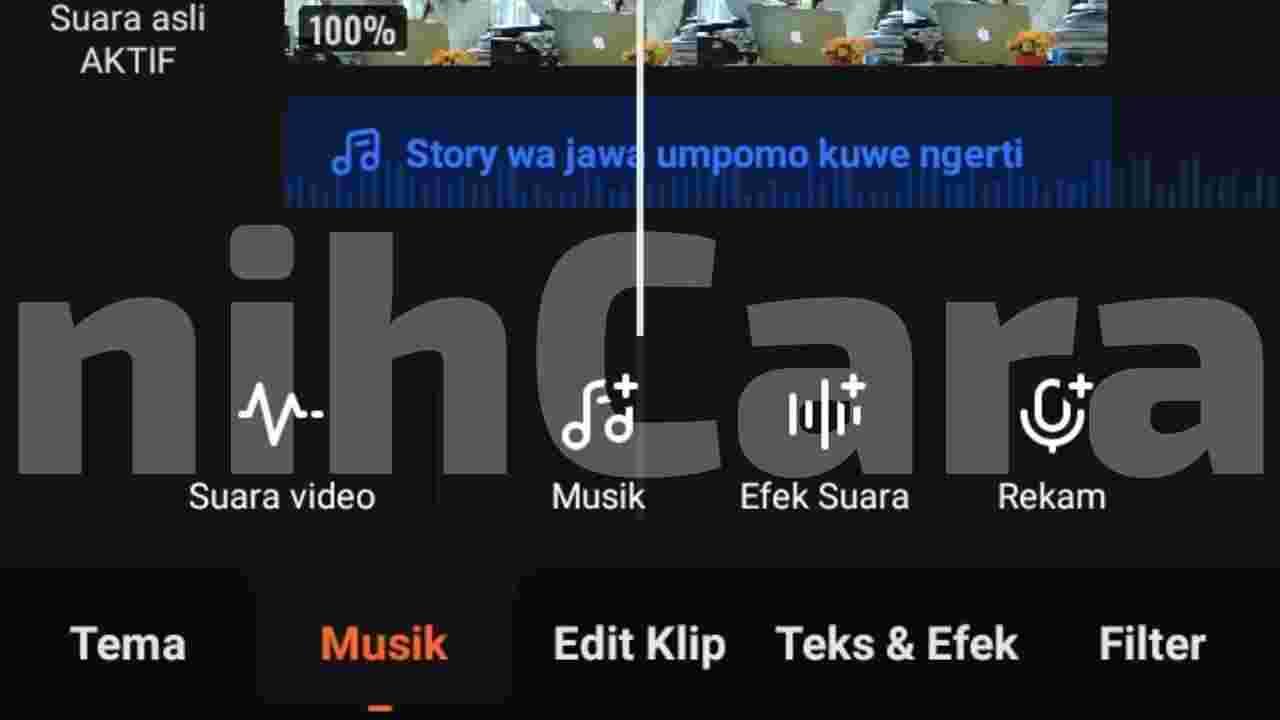 Cara menambahkan lagu di Viva video