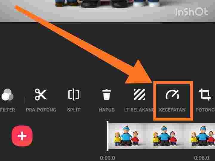 Download inshot Pro transisi