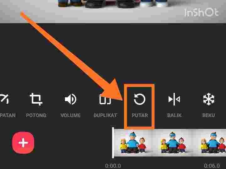Cara mengubah suara di InShot