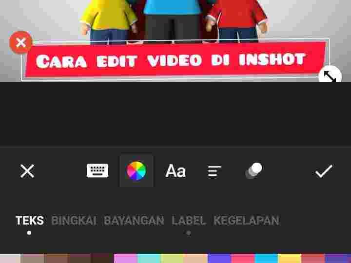 cara mengedit video di inshot