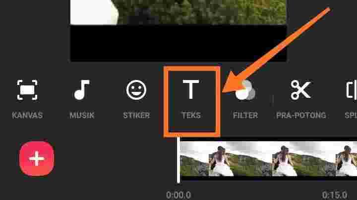 Cara menggabungkan video di TikTok