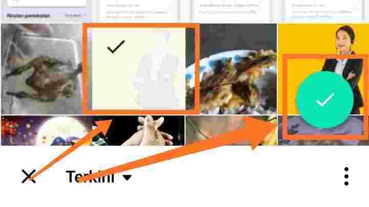Cara menggabungkan Foto dan Video di PhotoGrid