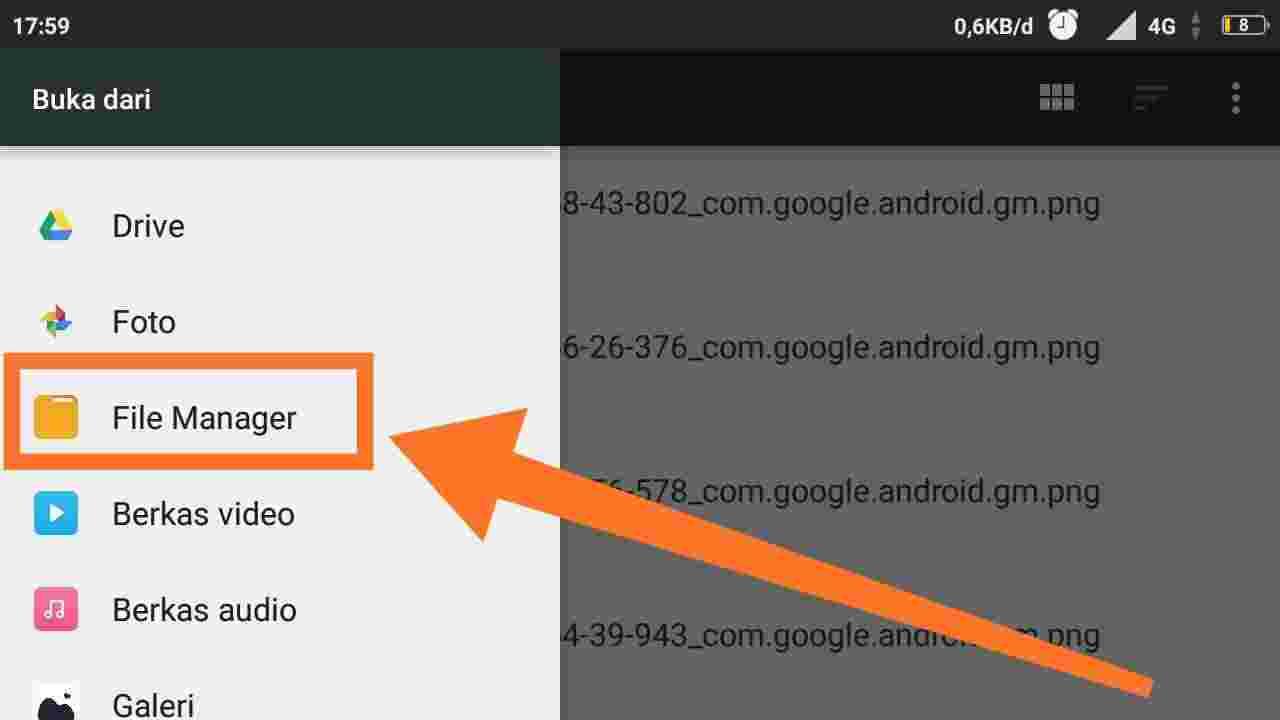 Cara mengirim file dari Gmail ke WA