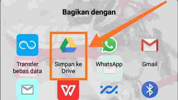 Cara mengirim aplikasi lewat WA