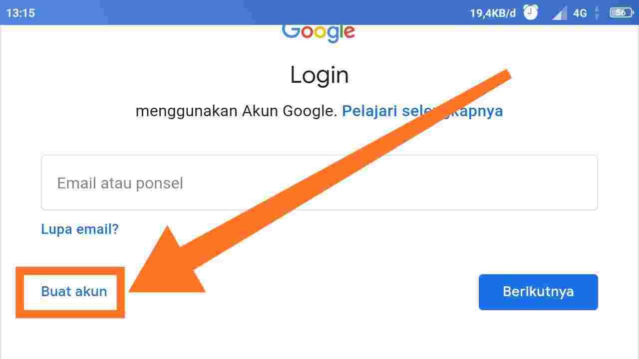 Gmail login akun
