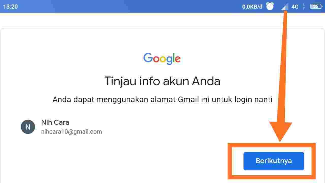 Download email baru