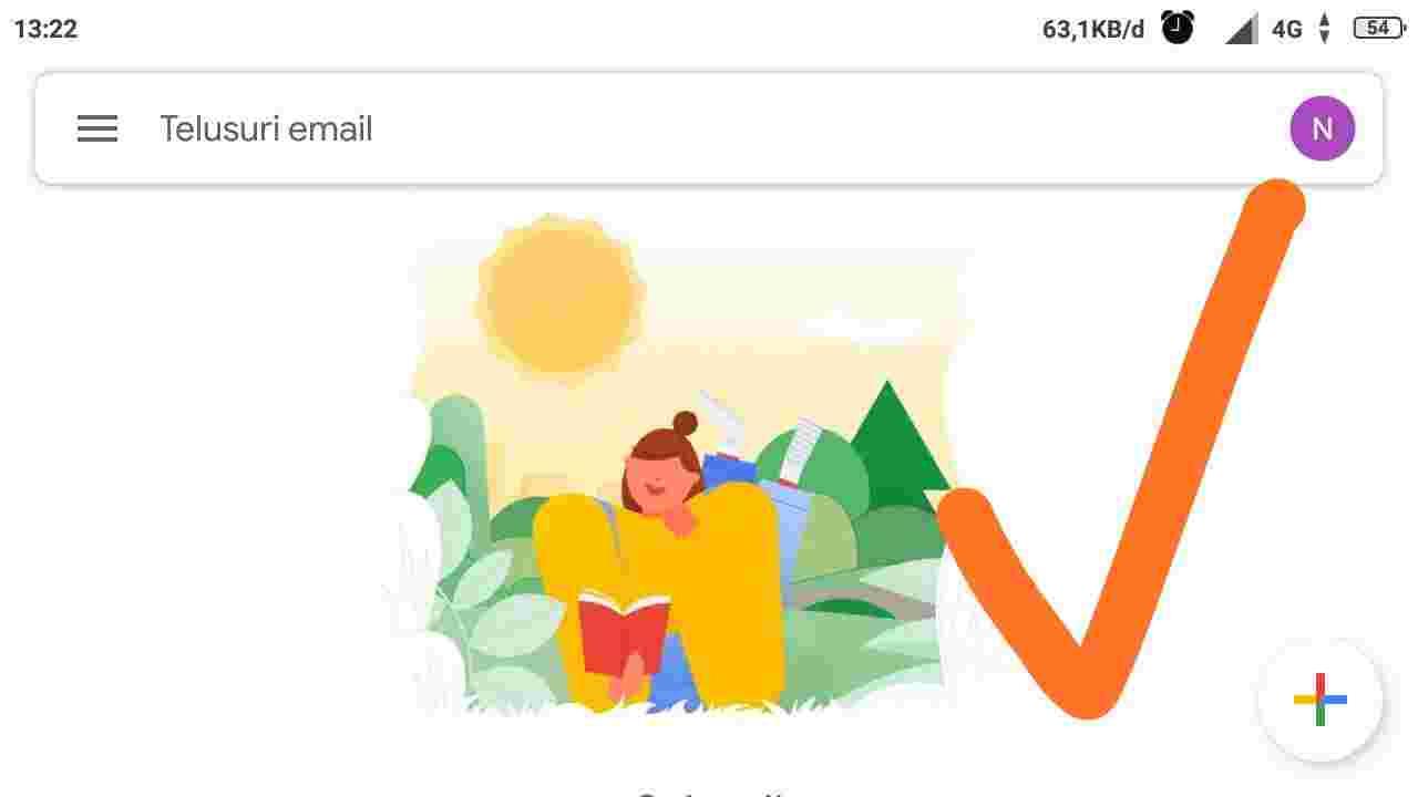 cara membuat email baru dihp
