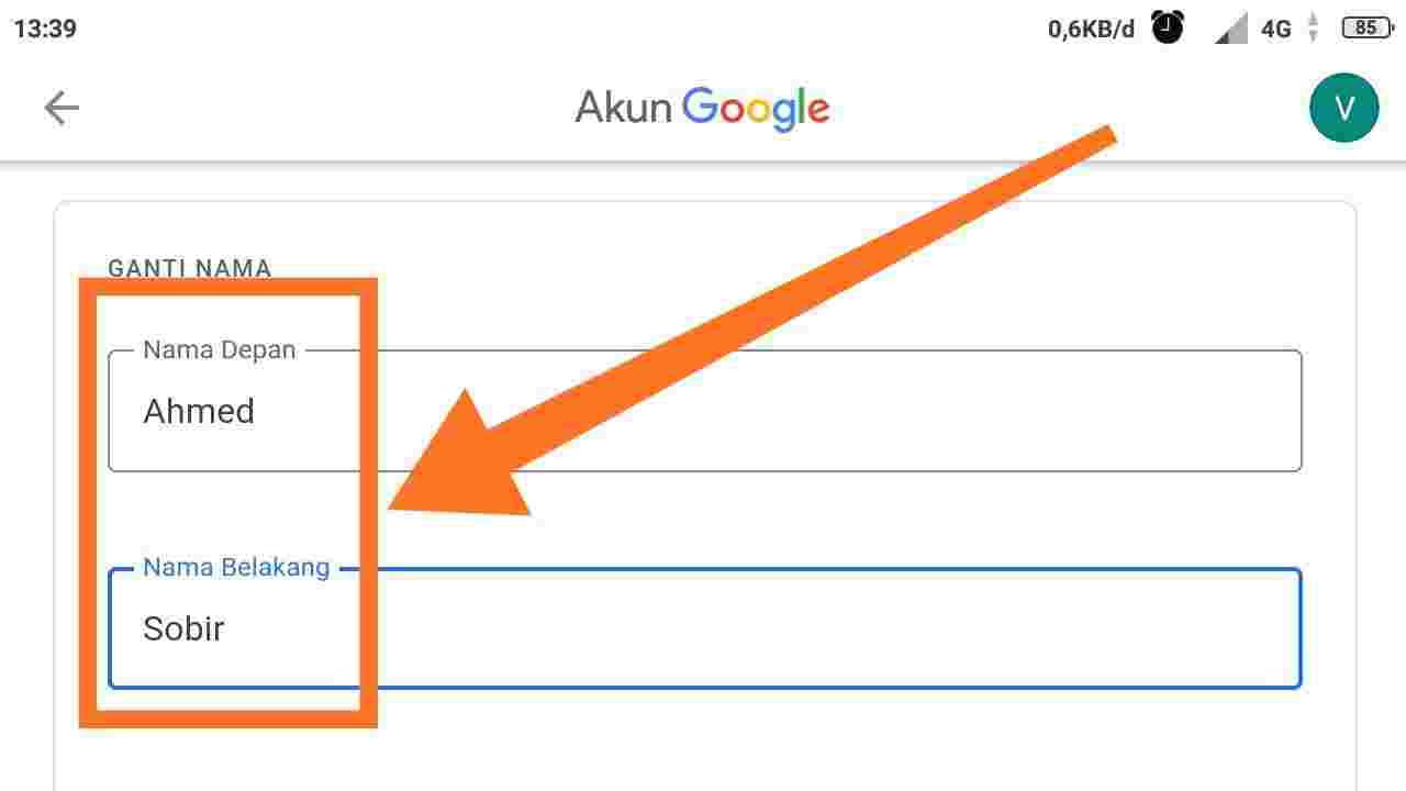 Cara mengganti nama di Google Play Game