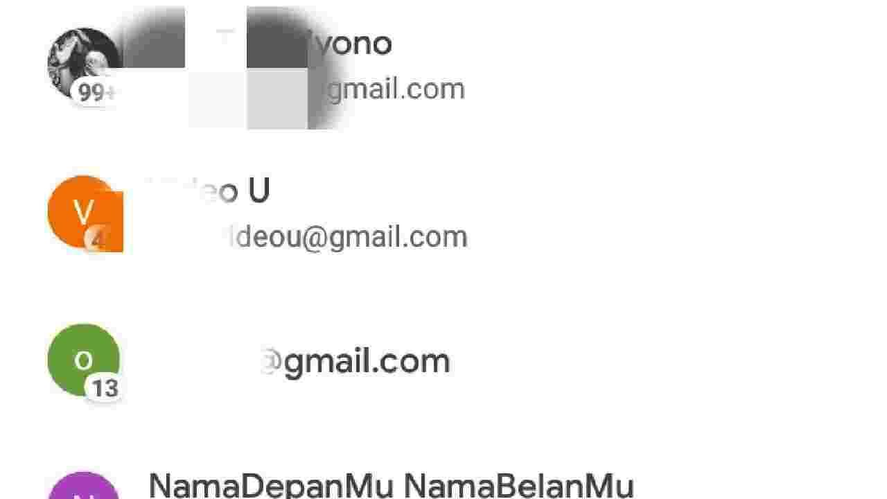Cara mengetahui email yang lupa