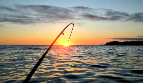 Fishing in the Barkley Sound, Ucluelet