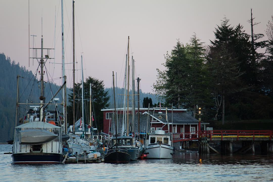 Tofino Fishing Docks