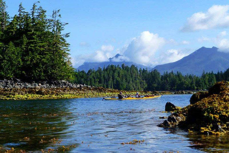 Hard Island, Broken Group Islands, Barkley Sound Ucluelet