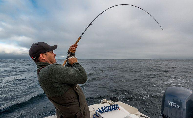 Fishing in Tofino