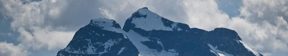 Snowy peaks at Revelstoke Mountain