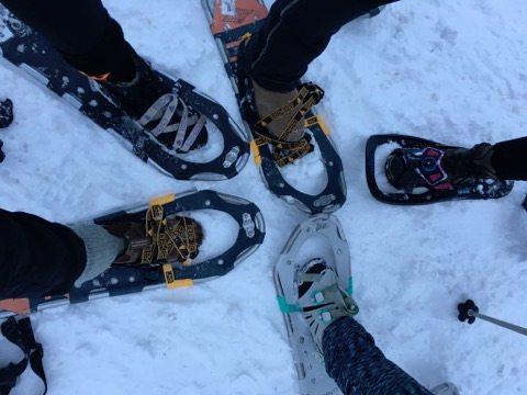 Snowshoeing at SilverStar Mountain Resort