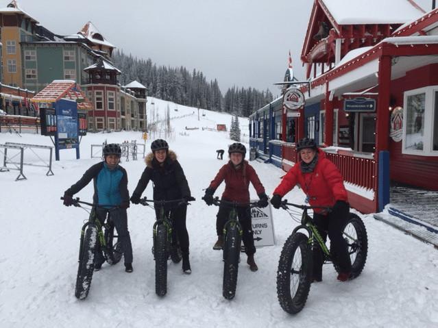 Fat Biking at SilverStar Mountain Resort