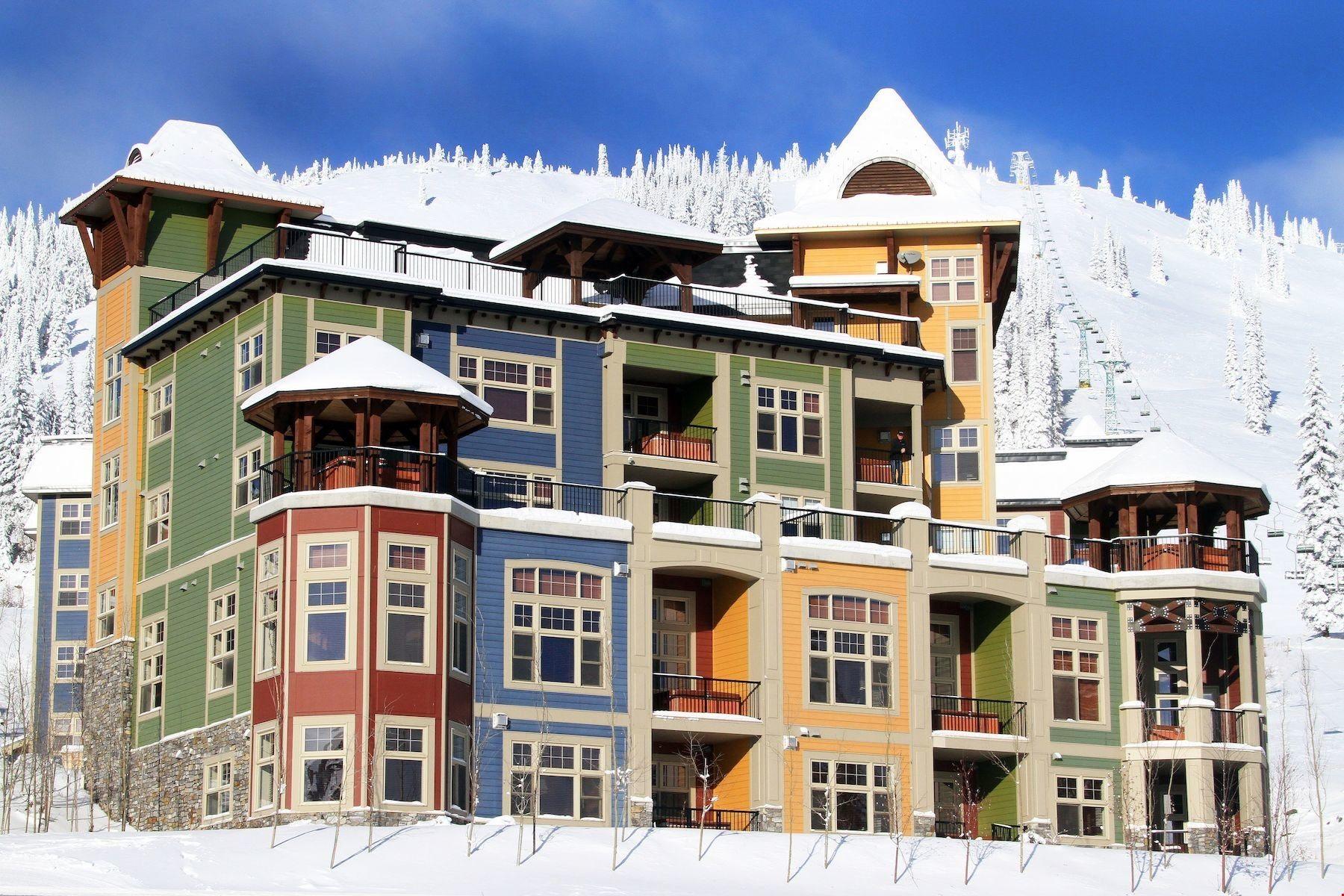 Snowbird Lodge at SilverStar Mountain Resort