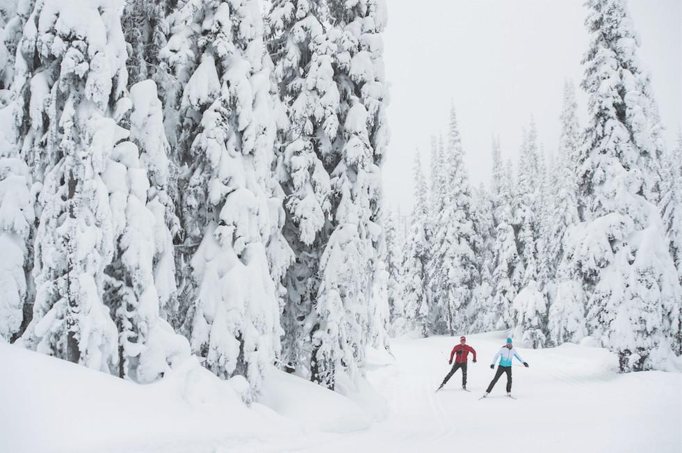 XC Skiing at Silver Star